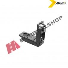 Γωνία σύνδεσης σίτας πρέσσας χυτή 10,6x19mm για profil M 9228, S 490 Alumil 1401119000 (0423 Modicelli)