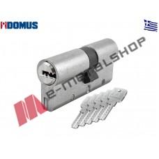 Αφαλός υψίστης ασφαλείας Alfa 65mm 30/35 ασημί Domus (24065K)