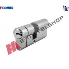Αφαλός υψίστης ασφαλείας econ 90mm 30/60 με προστασία και μετά το σπάσιμο ασημί Domus (21090K)
