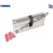 Αφαλός 90mm 30/60 ασημί Domus (16090K)
