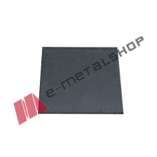 Φλάτζα για κοιλοδοκό μαύρη 250x250x16