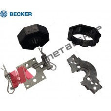 Σετ βάση στήριξης ρολού και εξαρτήματα Becker  για άξονα Φ70