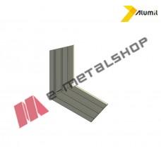 Γωνία επιπεδότητας για φύλλο παντζουριού S325 Alumil 1800032500
