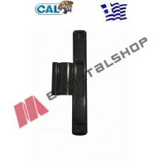 Κλειδαριά CAL Doublex Classic με κλειδί για συρόμενα κουφώματα (μαύρη) για πόρτες και παράθυρα