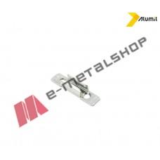 Αντίκρυσμα κλειδαριάς συρομένου ασημί 6308800011 Alumil