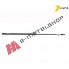 Κλειδαριά συρομένου Alumil 600mm BS15 με κλείδωμα 2 σημείων (64404064100)