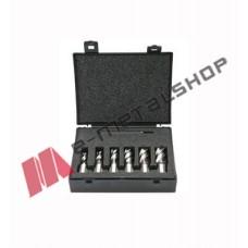 Ποτηροκορώνες M2,για όλα τα μαγνητικά δράπανα σετ 6 τεμαχίων μήκους 50mm Evolution (cutter Kit 6L)