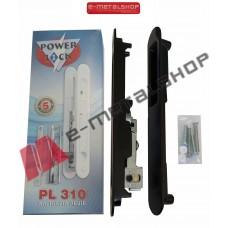 Κλειδαριά ασφαλείας Powerlock PL310 χρώμα μαύρο
