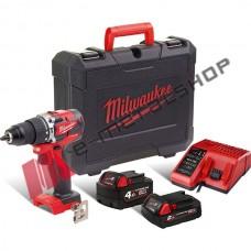 MILWAUKEE M18 CBLPD-422C Κρουστικό δραπανοκατσάβιδο BRUSHLESS
